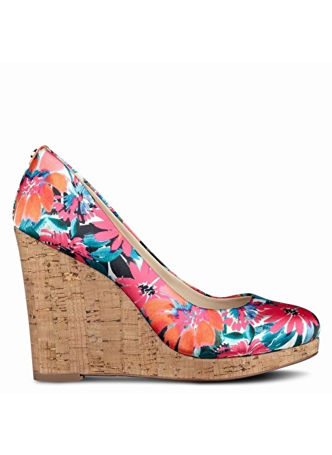 Nine West %100 Saten Casual Ayakkabı Oranj